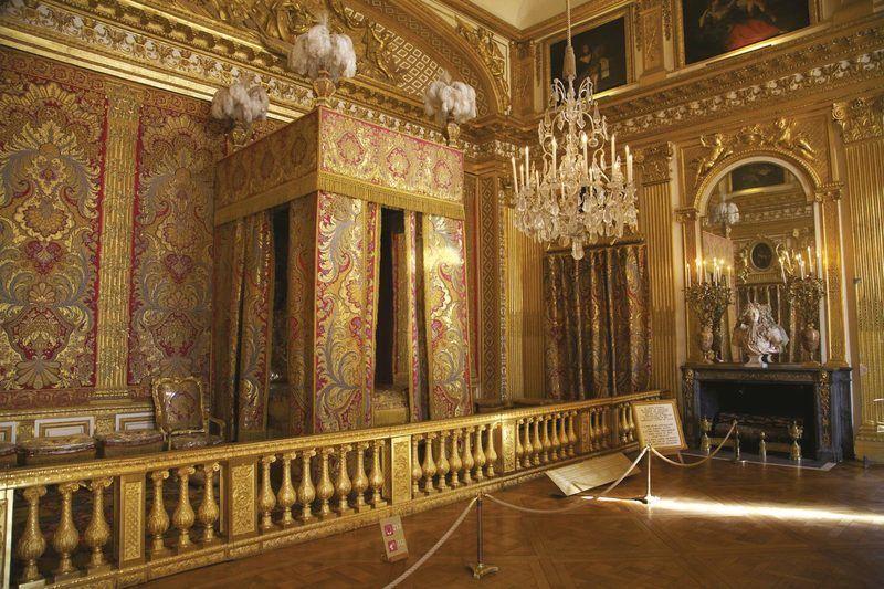 Versailles les arts au service du roi soleil - Histoire des arts la chambre des officiers ...