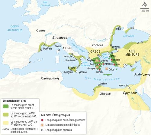 La Méditerranée Et Le Monde Grec Au Ier Millénaire Avant J C