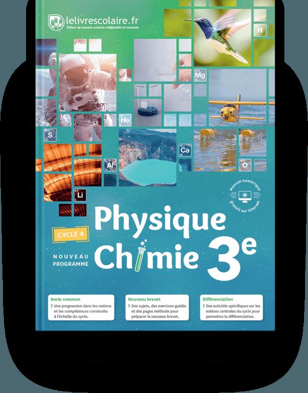 Couverture livre Physique-Chimie 3e 2017