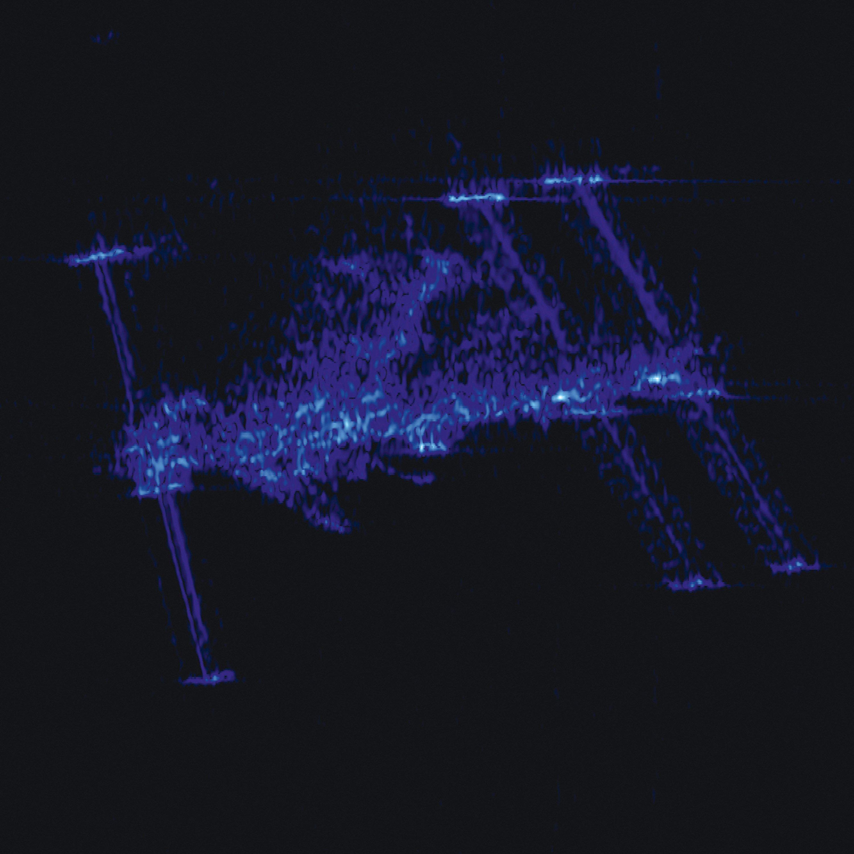 L'ISS vue par le satellite RADAR allemand TerraSAR-X.