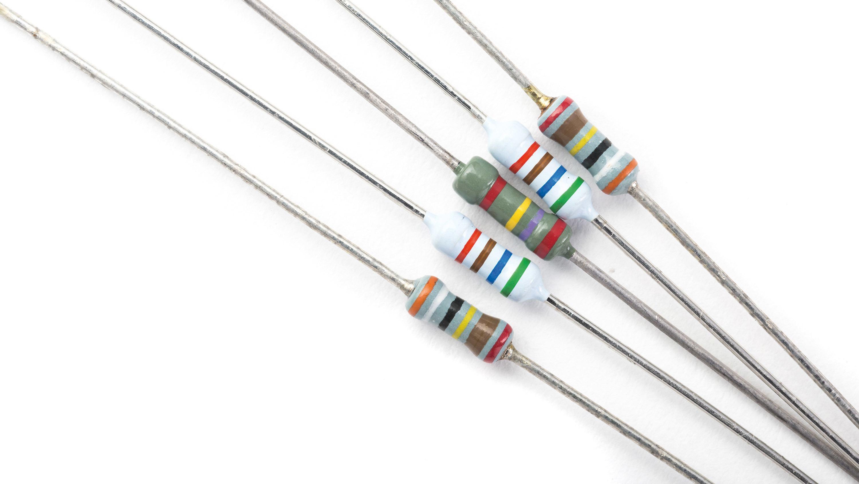 Résistors utilisés dans les circuits électriques.