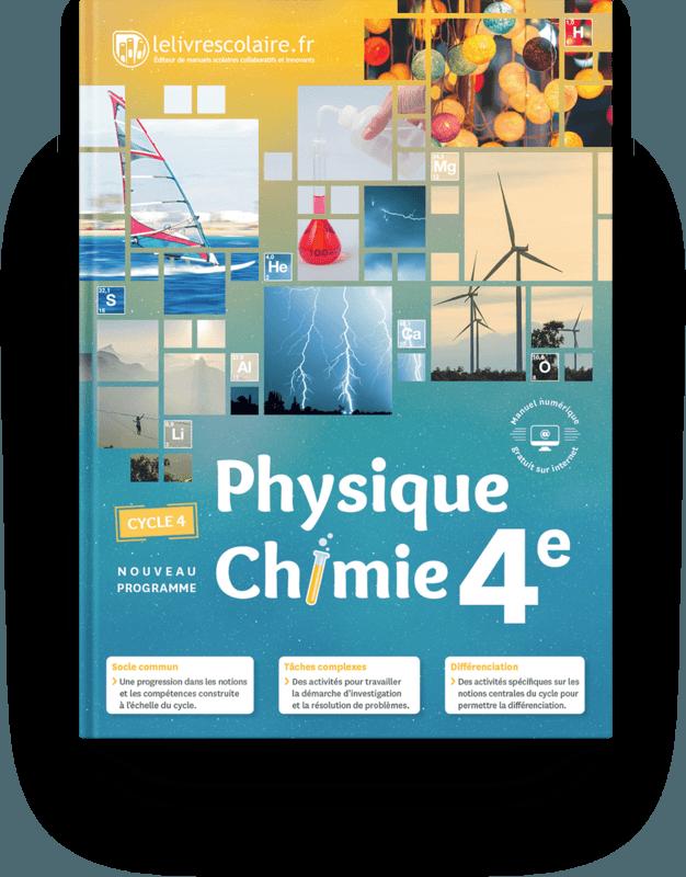 Couverture livre Physique-Chimie 4e 2017