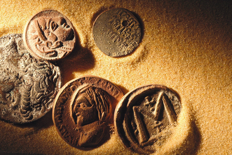 Monnaie de cuivre.