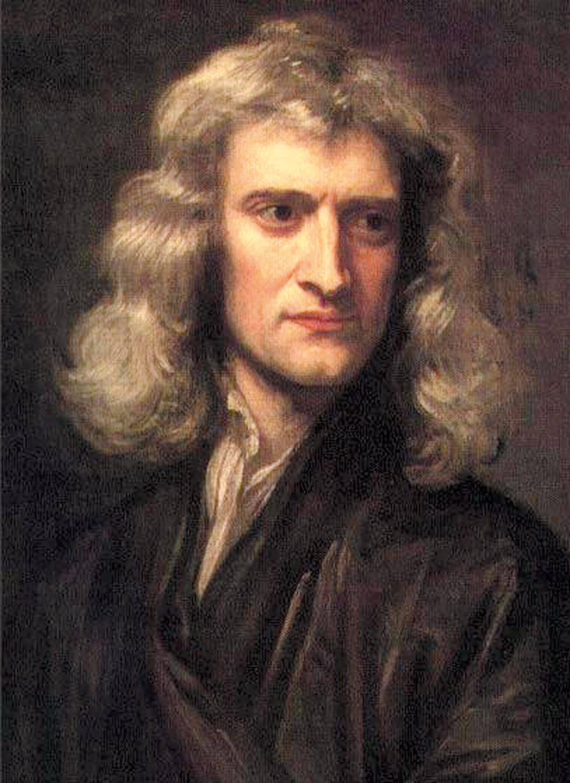 Les apports scientifiques d'Isaac Newton (1642-1727).