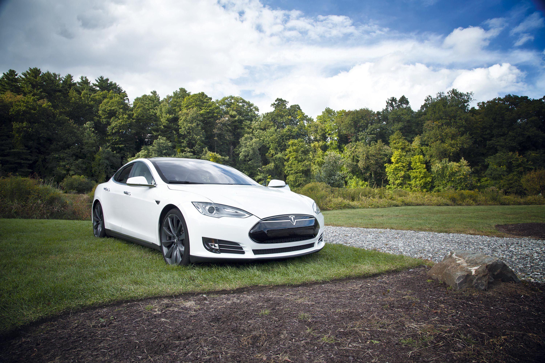 Voiture électrique Tesla S®.