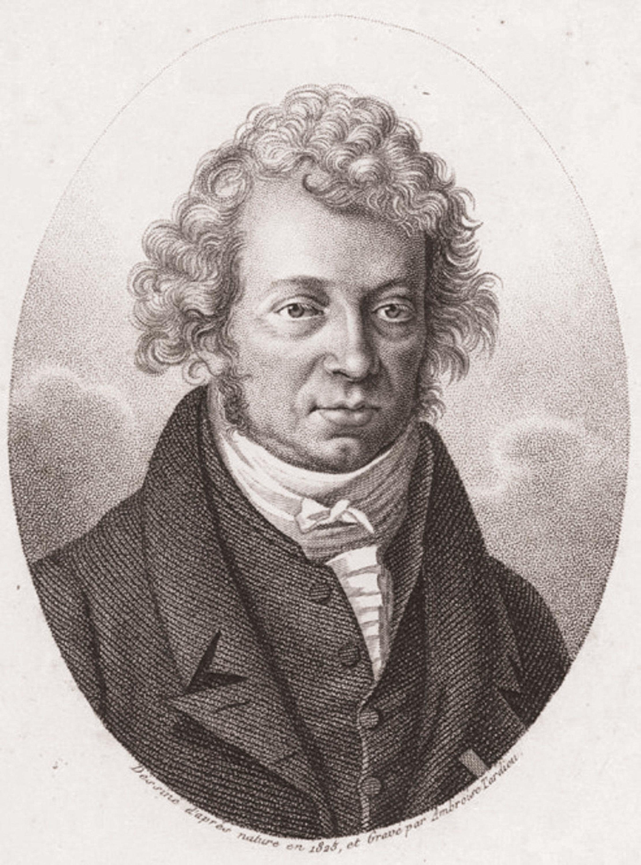 André-Marie Ampère et la physique.