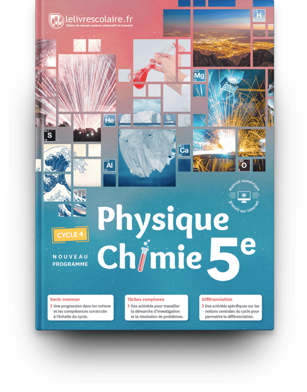 Couverture livre Physique-Chimie 5e