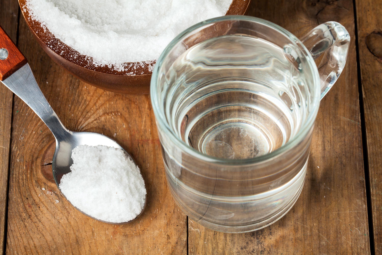 Solubilité du sel.