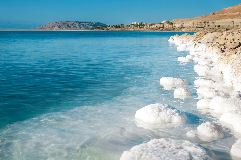 Mer méditerranée et mer Morte.