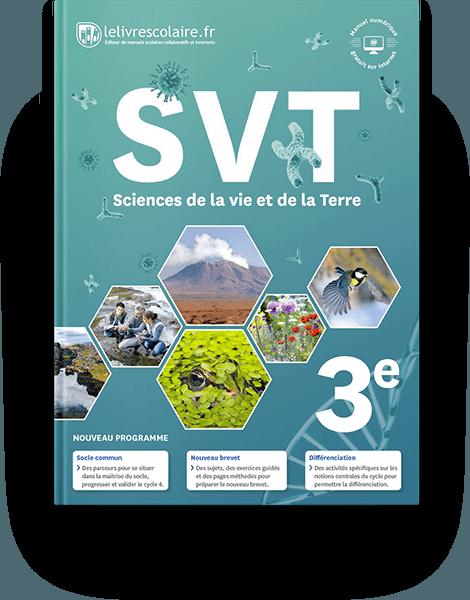 Couverture livre SVT 3e 2017