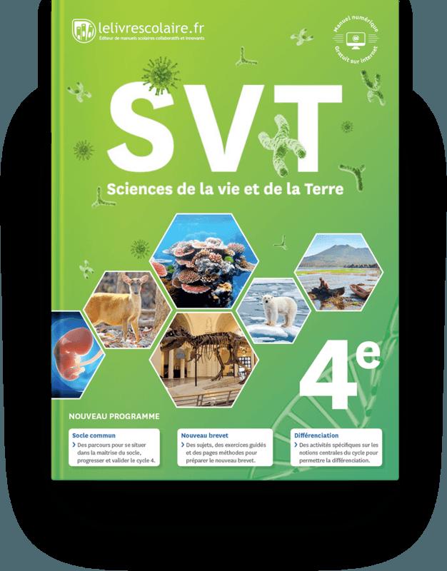 Couverture livre SVT 4e 2017
