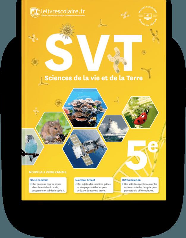 Couverture livre SVT 5e 2017