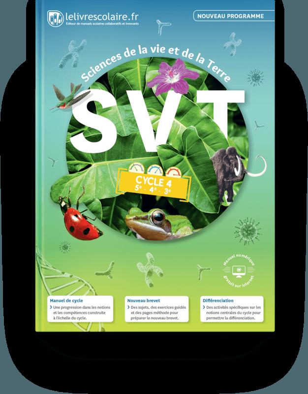 Couverture livre SVT Cycle 4 2017