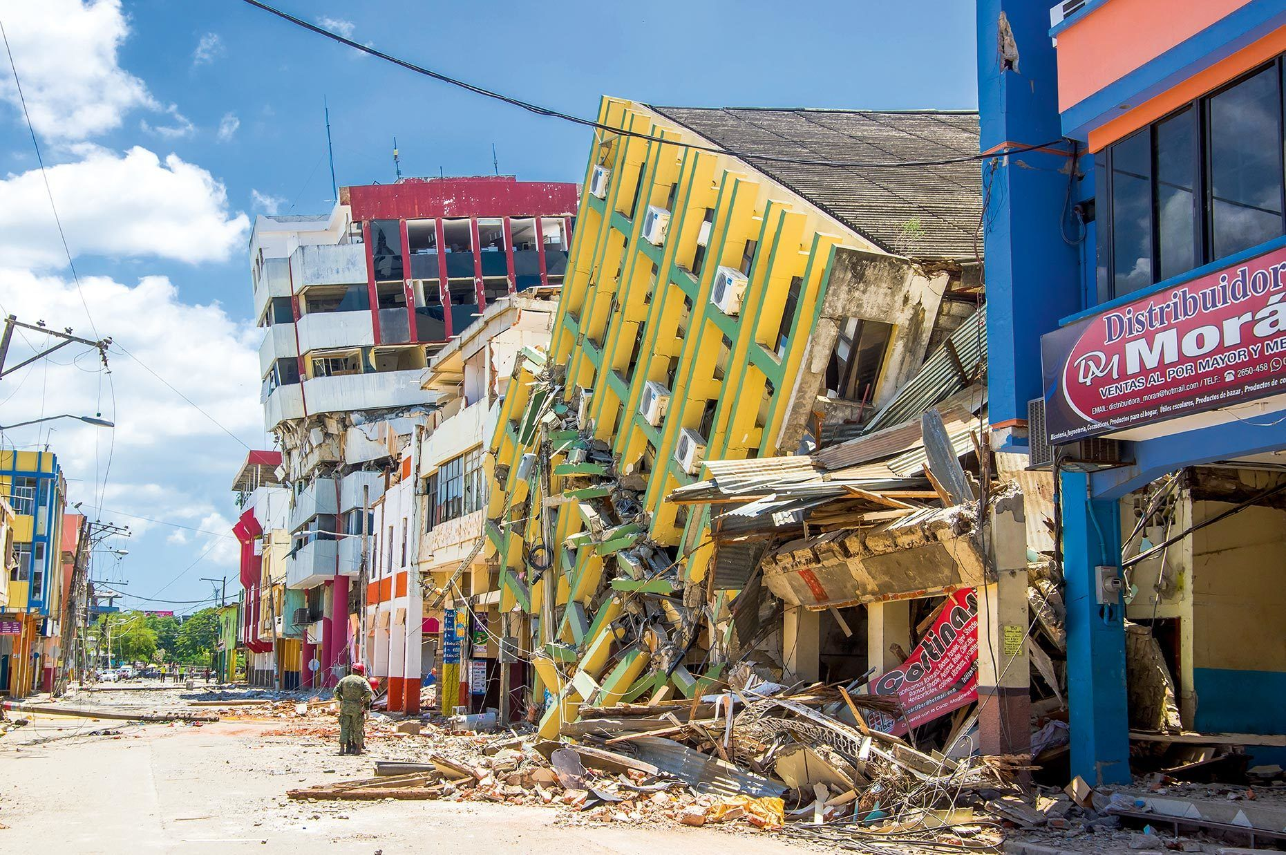 La résistance variable des constructions aux séismes.
