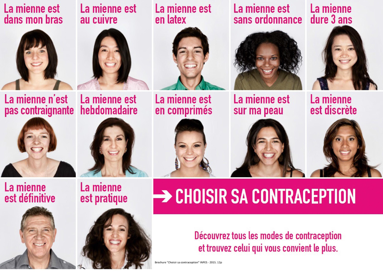 Les différents moyens de contraception (www.choisirsacontraception.fr).