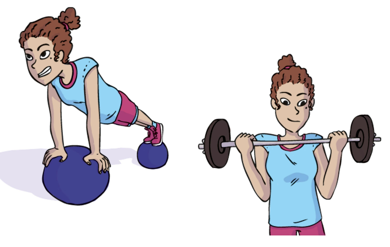 Un programme d'entrainement équilibré pour se muscler.