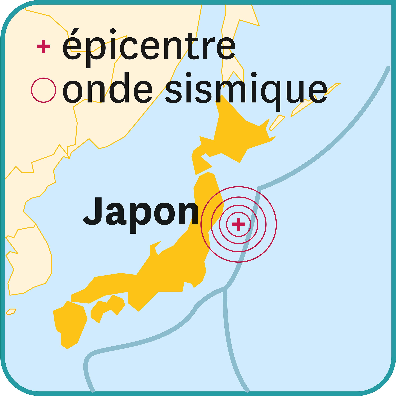 Le seisme de Honshu du 11 mars 2011.