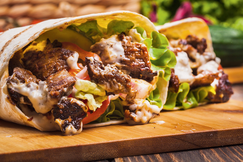 La valeur nutritionnelle d'un kebab.