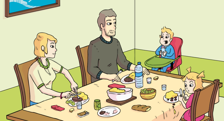 L'alimentation à différents âges.