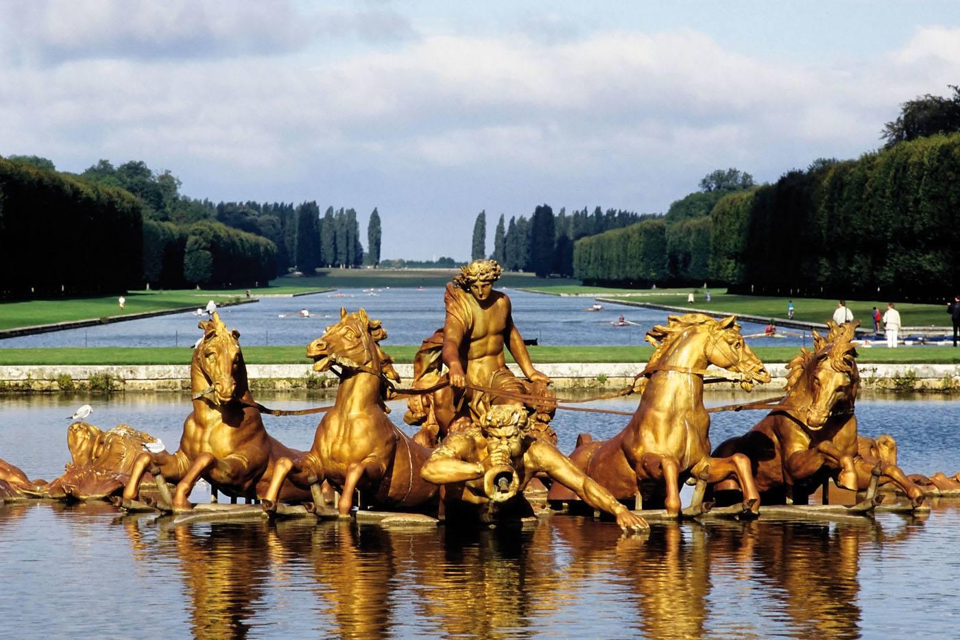 apollon dans les jardins de versailles - Les Jardins De Versailles