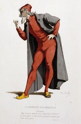Le personnage du docteur Pantalon