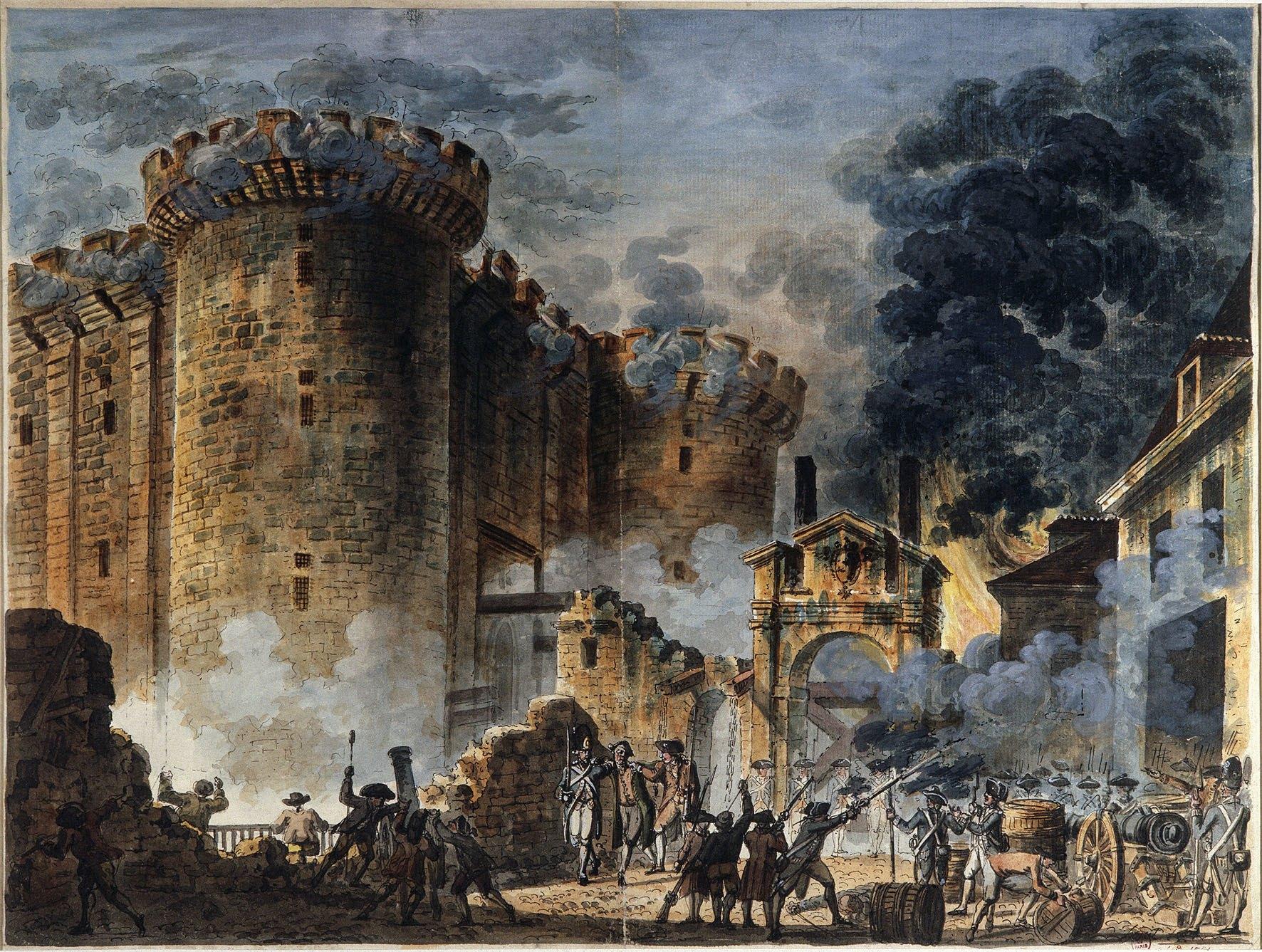 """Résultat de recherche d'images pour """"prise de la bastille"""""""