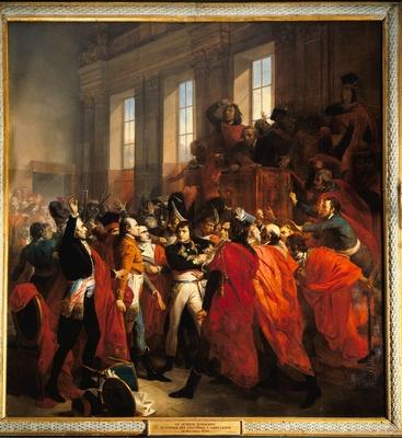 Le coup d'État du général Bonaparte, le 18 Brumaire an VIII (9 novembre 1799)