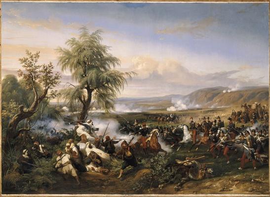 Le combat de l'Habrah dans al province d'Oran (1835)