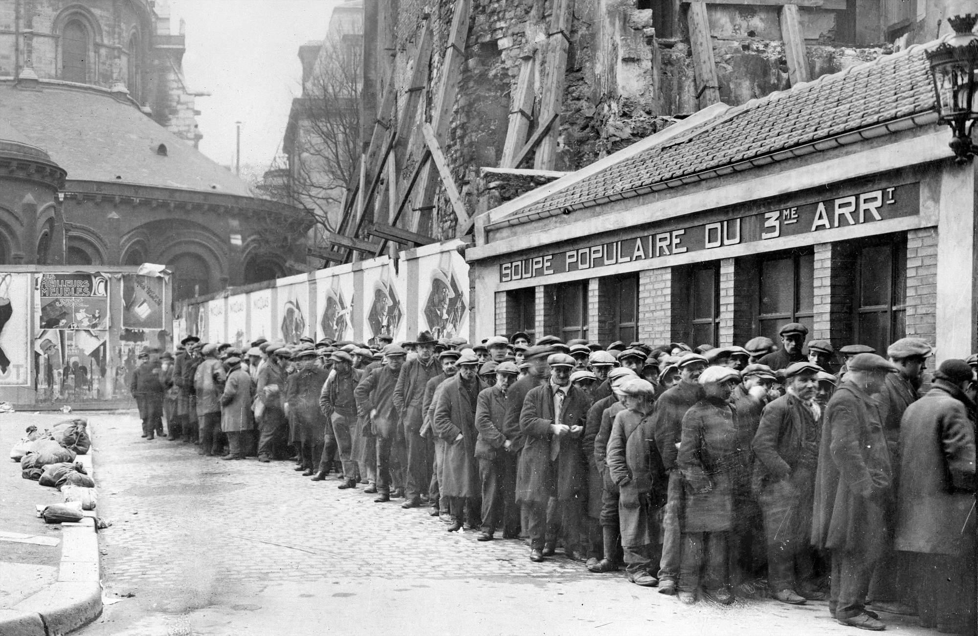 La misère ouvrière dans les années 1930