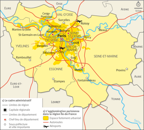 Les Villes Principale En France