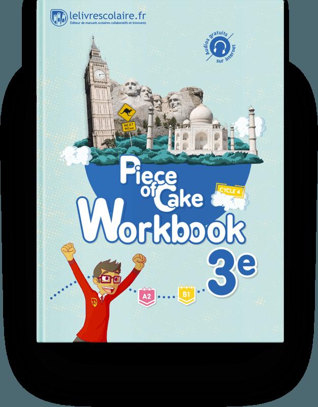 Couverture livre Cahier d'activités - Anglais 3e 2017